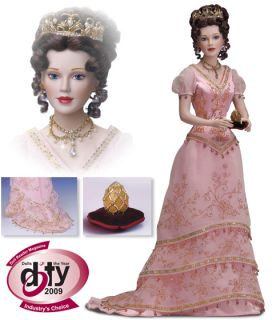 Franklin Mint Fabergé Princess Sofia Porcelain Doll
