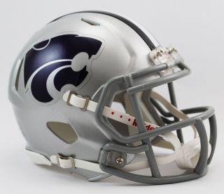 Kansas State Wildcats NCAA Revolution Speed Mini Football Helmet