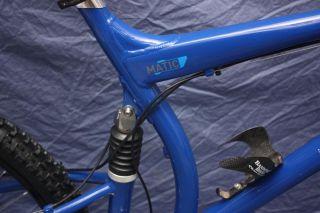 Maverick Matic Full Suspension Mountain Bike ML7 Large SC32 Fork Klein
