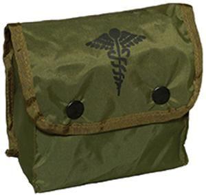 Drab Military Type First Aid Kit RR1201OD 5 x 5 x 2 1 2