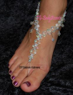 Barefoot Sandals Foot Jewelry Beach Wedding Anklets