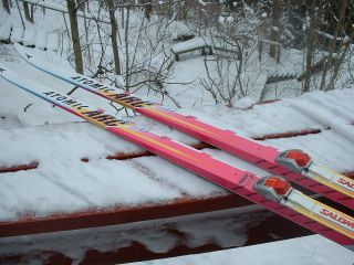 Atomic ARC Racing G Skating Skis 183cm Salomon Profil SNS Bindings