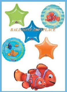 Birthday Party XL Balloons Fish Ocean Decoration Supplies 6
