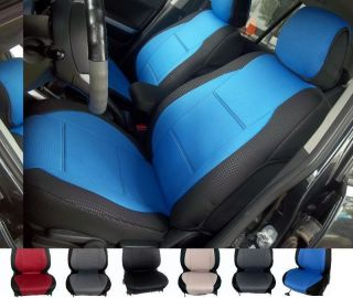 For Ford C Max Two Front Custom Diamond Seat Covers Blue Red Black