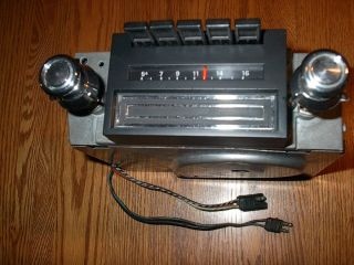 Ford Mustang Cougar 1970 73 Am 8 Track Radio