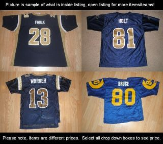 Youth St Louis Rams NFC West Football Jerseys NFL