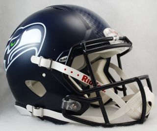 Seattle Seahawks Riddell Revolution Speed Football Helmet
