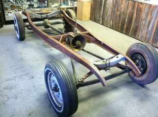 1932 Ford Chassis Frame heavy axles wishbone hot rod scta deuce 32 k