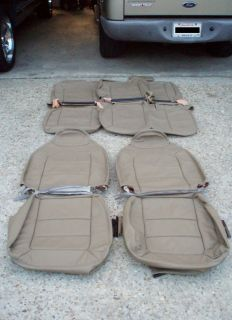 Ford Explorer Sporttrac Leather Interior Seat Covers
