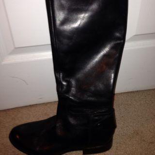 Franco Sarto Boots Womans Size 8 Black