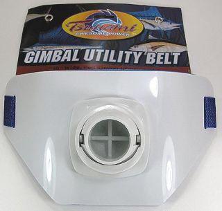 Tsunami Full Gimbal Utility Fishing Belt 10 Wide New