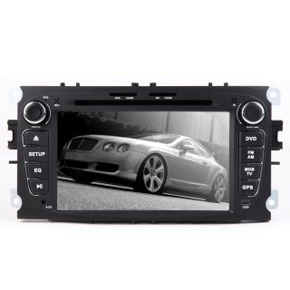 Digital Touch Screen DVD Player Stereo GPS Special Ford Mondeo