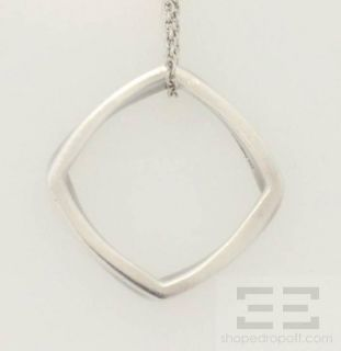 Tiffany Co Frank Gehry Sterling Silver Torque Necklace