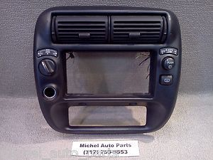 Ford Explorer Radio Dash Bezel 1995 01 AUTO 4x4 HIGH LOW Wiper Defrost