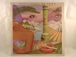 Weather Report Mr Gone LP Pastorius Zawinul Shorter