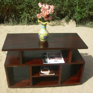 Solid Wood Media Center Storage TV Stand DVD CD Rack Entertainment Set