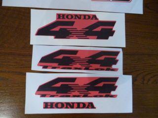 Honda Foreman 450ES ES Quad ATV Stickers Decals Label