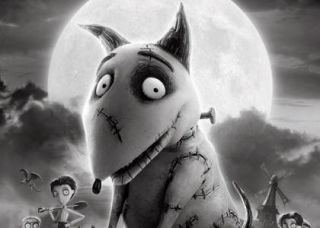 Disney Frankenweenie Tim Burton Sparky After Life Plush Dog Doll Toy