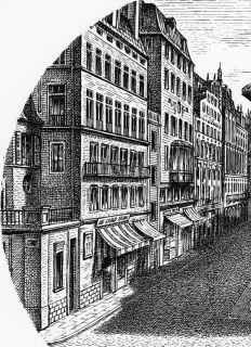 RARE Ancien Tirage de Piero Fornasetti de La Série Tema E Variazioni