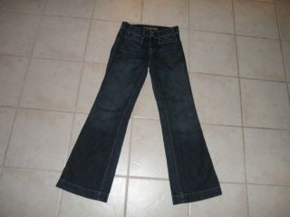 American Eagle Womens Flare Leg Jeans Size 4 Regular 29 x 32 Mid Rise