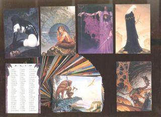 Gerald Brom 90 Card FPG Friedlander Fantasy Art Set