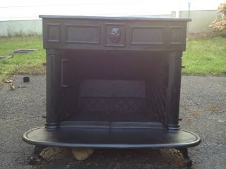 Franklin Cast Iron Wood Burning Stove