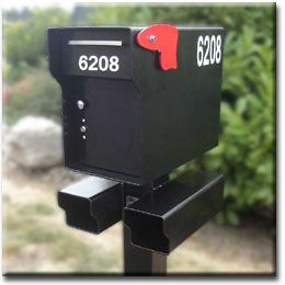 Fort Knox Mailbox 1 4 Steel Heavy Duty Locking Mailbox