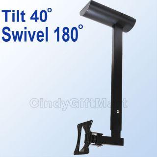 LCD Monitor Flat Panel TV Ceiling Hanger Mount Tilt M07