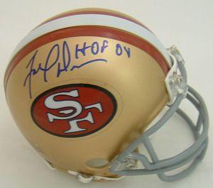 Fred Dean San Francisco 49ers Autographed Signed Mini Helmet w HOF 08