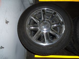 GM OEM GMC YUKON DENALI TAKE OFF SINGLE WHEEL TIRE 20 CHROME