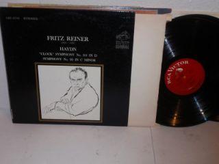 Fritz Reiner Haydn Clock Symphony LP RCA LSC 2742 Vinyl Record Album