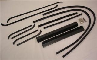 1940 1941 Ford Pickup Truck Door Run Window Channel Kit