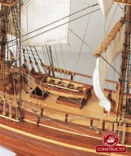 CONSTRUCTO 1/50 H.M.S. BOUNTY WOODEN SHIP MODEL KIT 80817 NIB