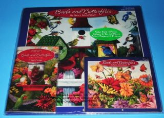 New 2013 3pc Lot Calendars 12 Month Wall Pocket Purse Planner Birds