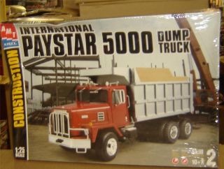 AMT PAYSTAR DUMP TRUCK FS GMS CUSTOMS HOBBY COLLECTION KIT 1 25