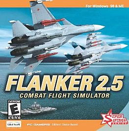 Flanker 2 5 Combat Flight Simulator PC Game New SEALED