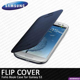 Genuine Samsung Original Flip Cover Pouch Case Galaxy SIII S3 i9300