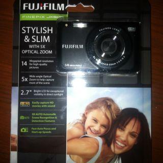 Fuji Film Finepix Jx500 Stylish &Slim With 5x Optical Zoom Digital