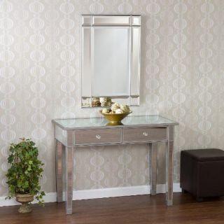Elegant Frameless Beveled Wall Mirror Vanity Mirror