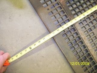 This is a larger floor grate like for the old gravity furnaces , it