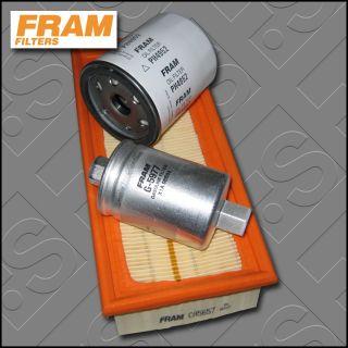 Service Kit Rover 45 1 8 16V Fram Oil Air Fuel Filters