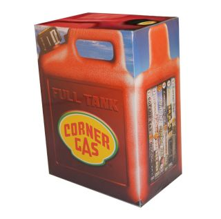 Corner Gas Complete Series Full Tank 17 Disc DVD Set Seasons 1 6 Box