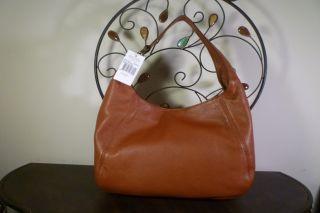 NWT Michael Kors Fulton Large Luggage Leather Tote Shoulder Bag