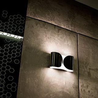 Flos Foglio Nichel Lampada Da Parete Design Scarpa