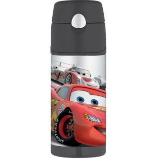 NWT Thermos Funtainer Drink Bottle, Cars 12 ounce