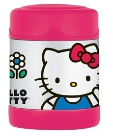 Thermos Hello Kitty Stainless Steel Funtainer 10oz Insulated Kids Food