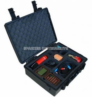 Ultrasonic Flowmeter Digital Flow Meter Tester DN50 700mm