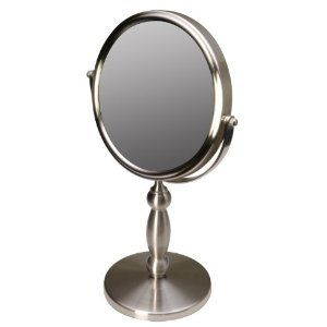 Floxite 7 inches Table Top Makeup Supervision Vanity Mirror 15x