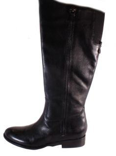 Franco Sarto Rocket Black Tall Fashion Boots Womens Shoes Size Medium