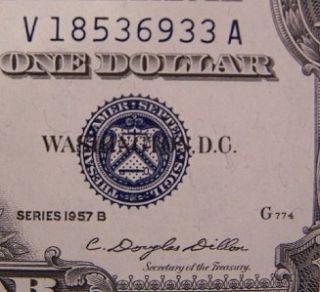 big blue seal silver certificate series 1934 circ